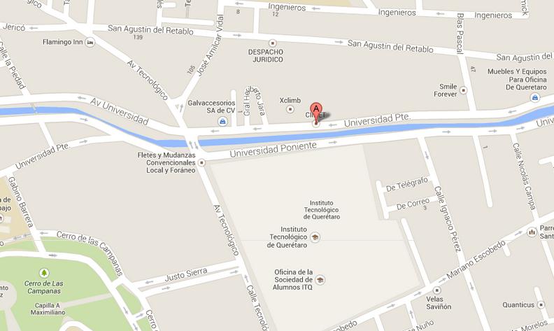 Ubicado en Avenida Universidad 282 Poniente, Colonia Centro, Código Postal 76000, Ciudad de Querétaro, Querétaro